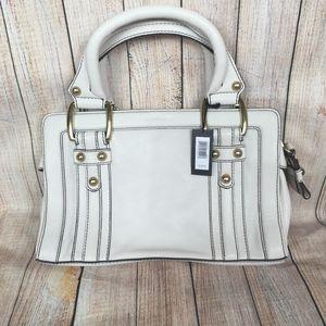 Banana Republic small leather satchel